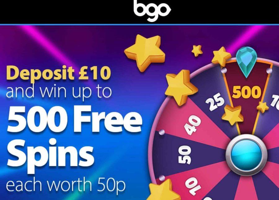 BGO Casino Bonus Codes 2021